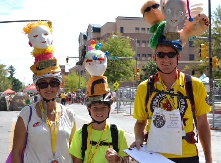 Families look forward to Tour de Fat every year Photo By: Jessica Whitehead