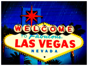 The infamous Welcome to Las Vegas sign. Photo Edited by: Jessica Whitehead