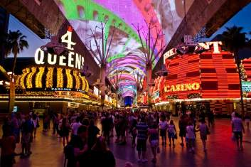The Fremont Street Experience. Photo courtesy: Counting on Travel